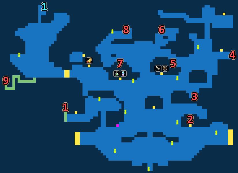 Treasure Map of Village of Ambel