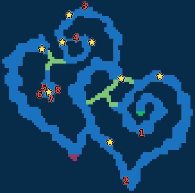 Treasure map of Festival of Love