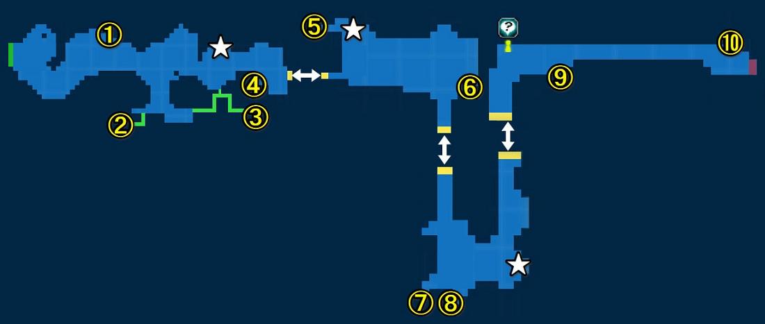 Map of Grand Falls
