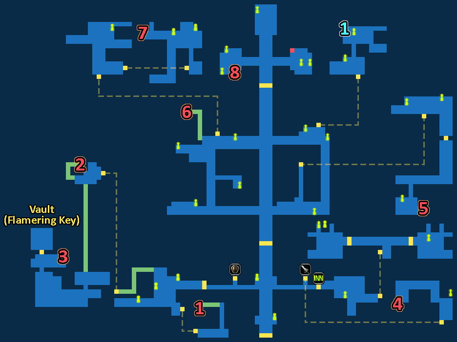 Treasure Map of Downtown Zoldaad