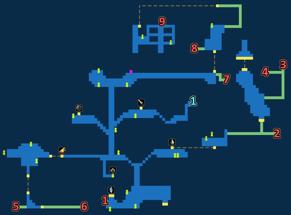 Treasure Map of Felicitas Town