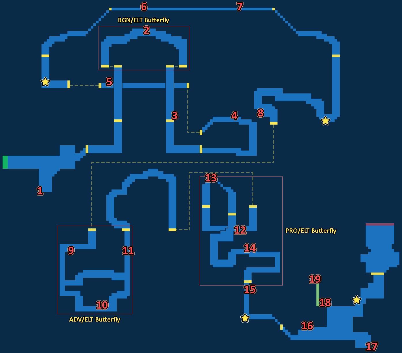 Treasure map of Macalania Woods