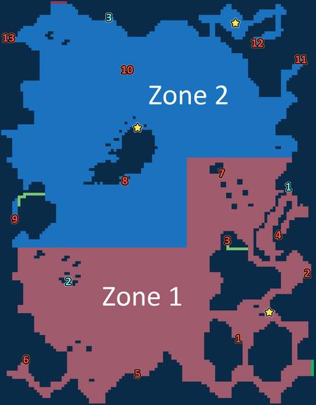 Encounter Map of Zadehl Westersands