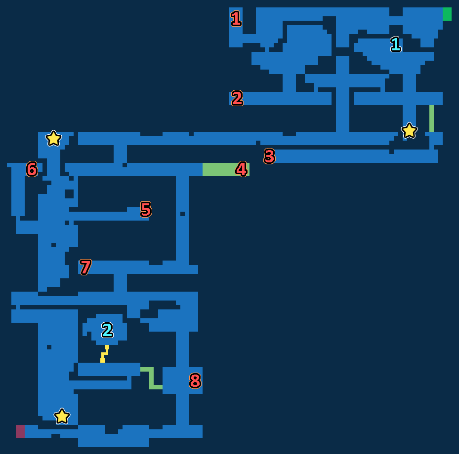 Treasure Map of Grandshelt Catacombs