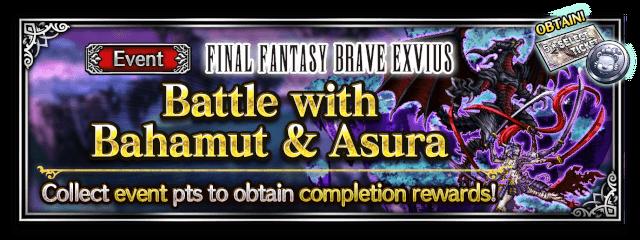 Battle with Bahamut & Asura