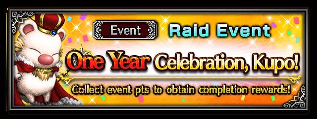 One Year Celebration, Kupo!
