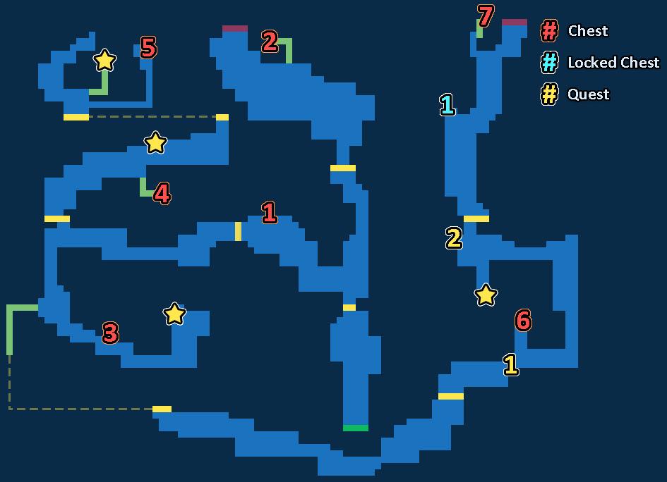 Treasure Map of Sky Cave