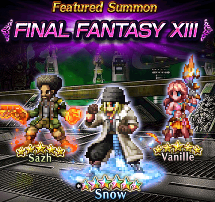 Featured Summon Final Fantasy XIII