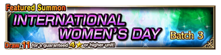 Featured Summon for International Women's Day