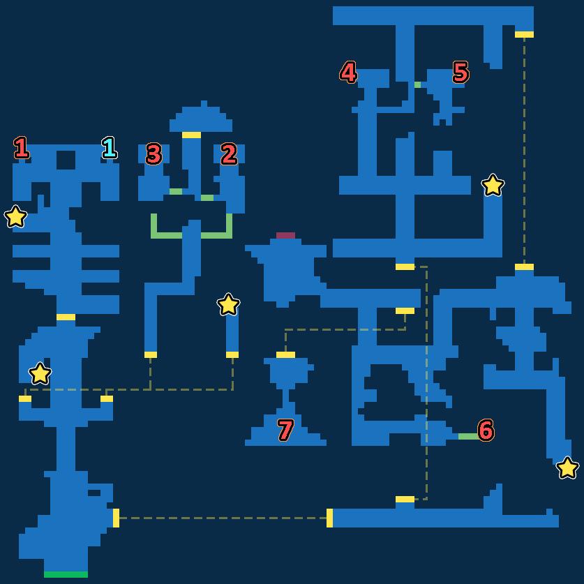 Treasure Map of Abandoned Orphanage