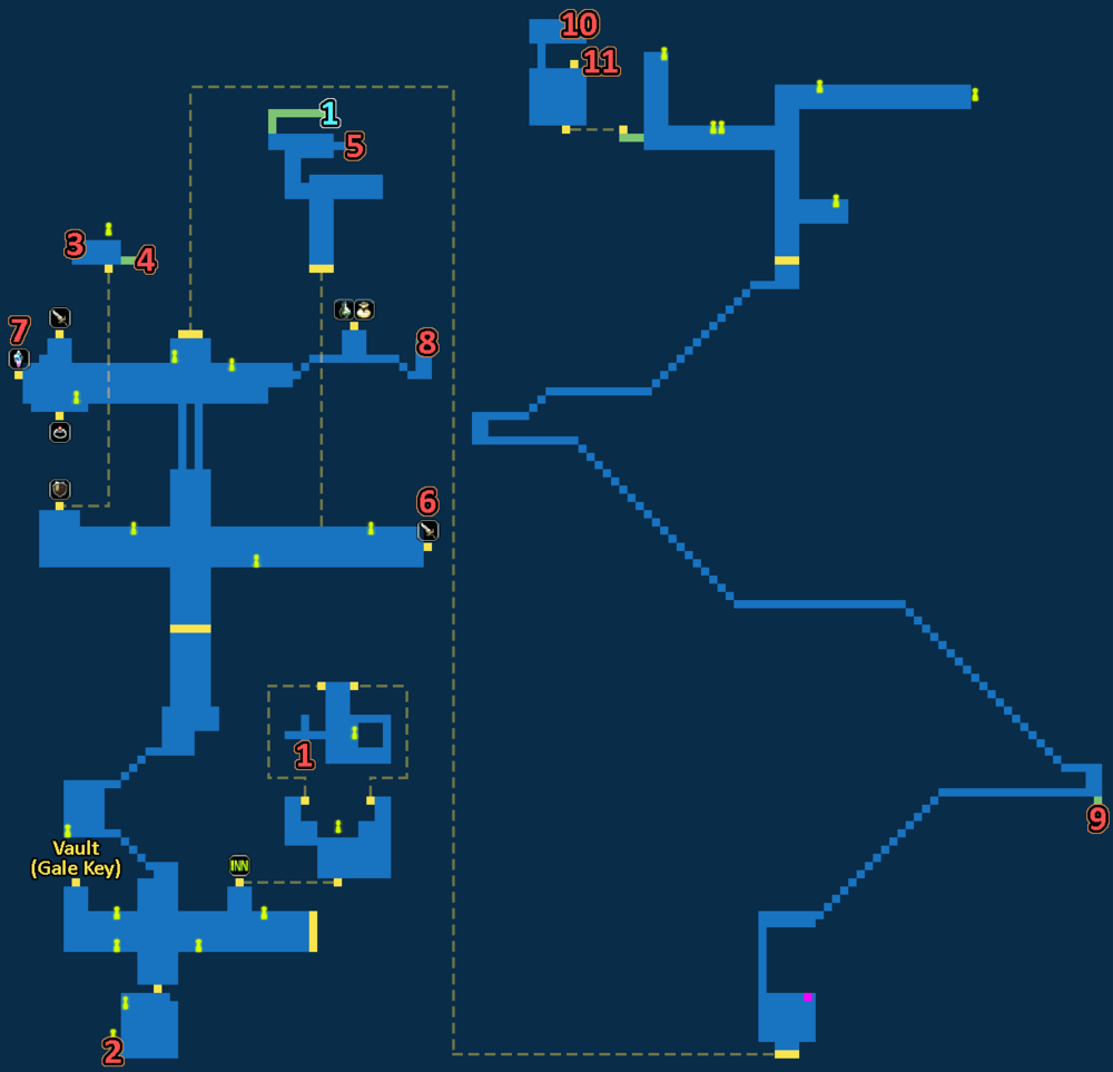 Treasure Map of Industrial City Dilmagia