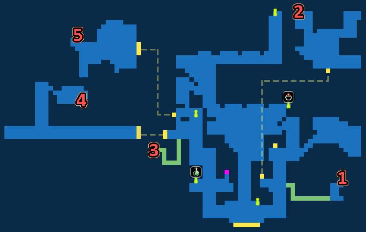 Treasure Map of Ghost Port Kolobos