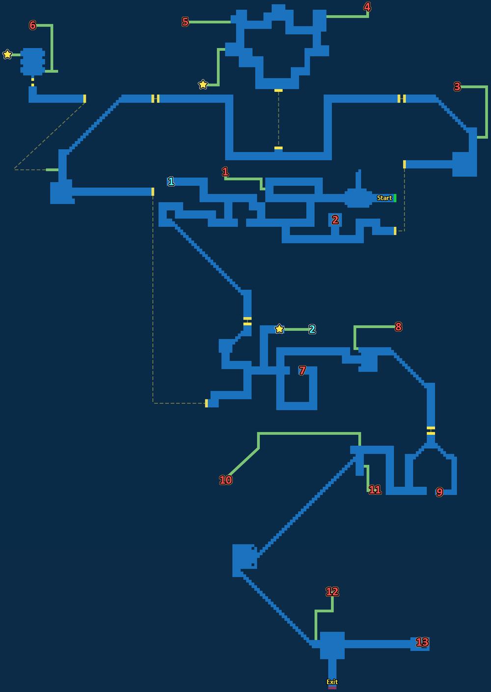 Treasure Map of Lanzelt Ruins