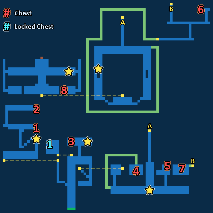 Map of Energy Extraction Station