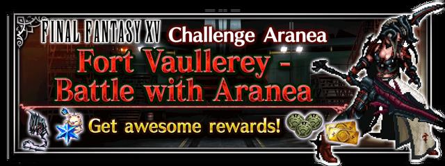 Fort Vaullerey - Battle with Aranea
