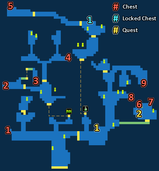 Map of City of Ash Anabeth