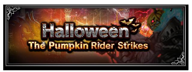 Halloween - The Pumpkin Rider Strikes