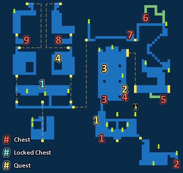 Map of Industrial City Dormdry