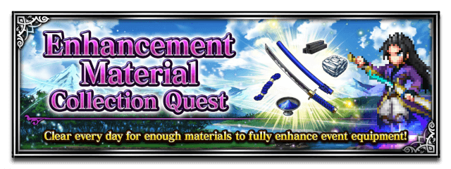 Enhancement Material Collection Quest