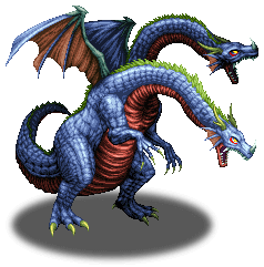 Two-Headed Frost Dragon