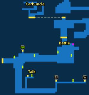 Quest marker for Carbuncle