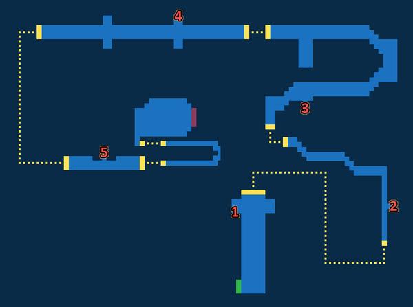 Map for Memoria - Exploration