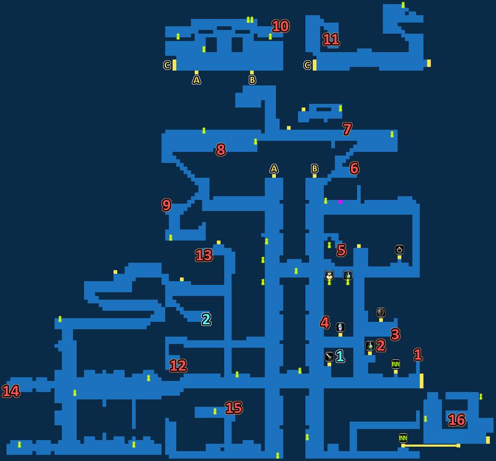 Treasure Map of Grandport