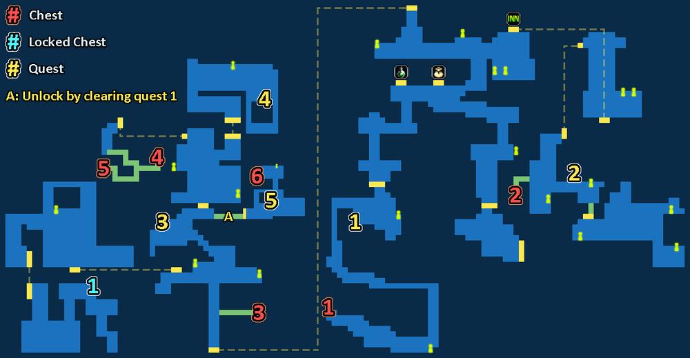 Map of Dragon's Village