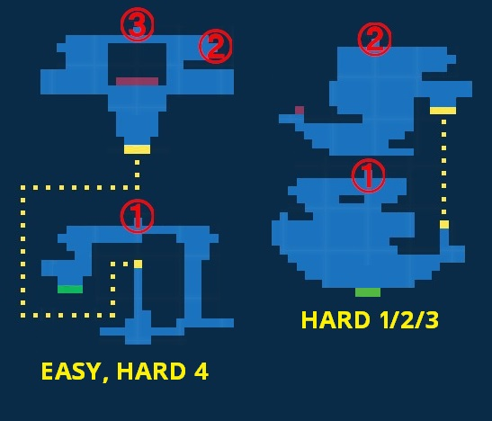 Map for Siren's Tower - Exploration