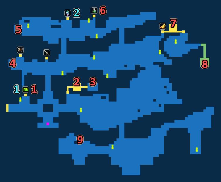 Treasure Map of Town of Mitra