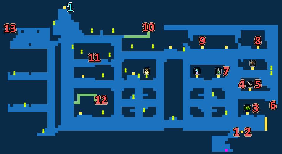 Treasure Map of Port City Lodin