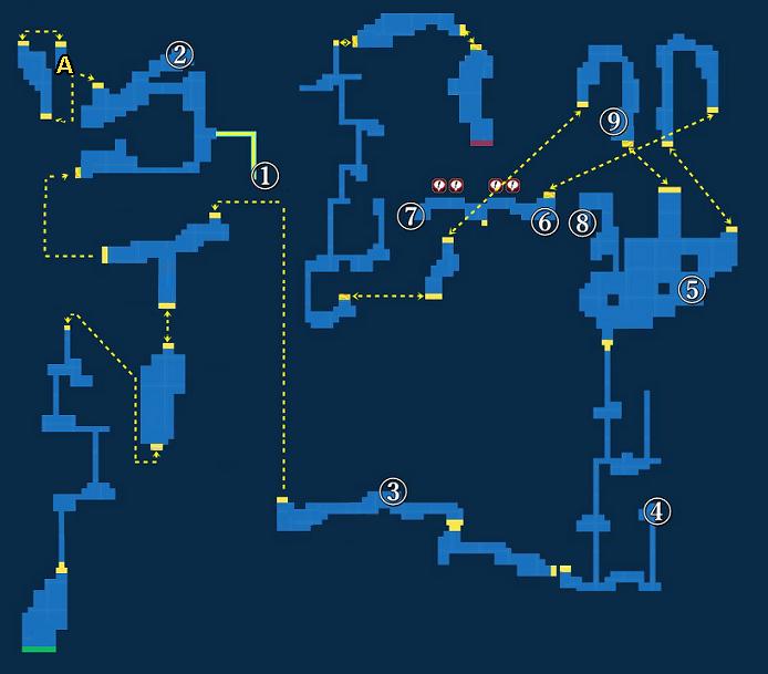 Treasure map of Gaea's Cliff - Exploration
