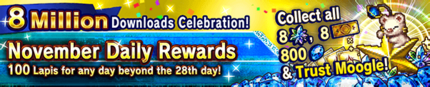 8 Million Downloads Celebration!