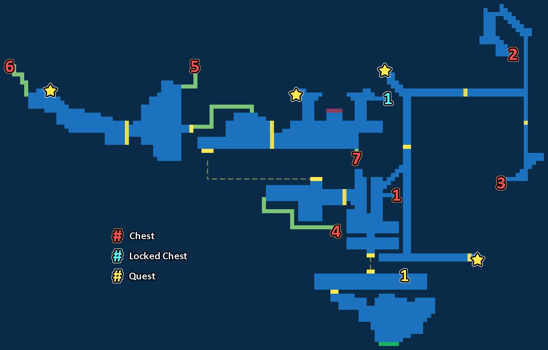 [Guide]: Les Quêtes Treasure_Map-Forgotten_Walls