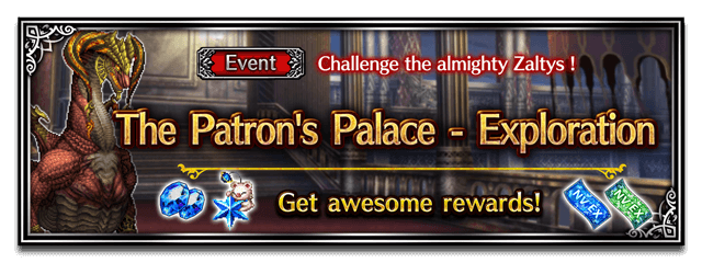 The Patron's Palace - Exploration