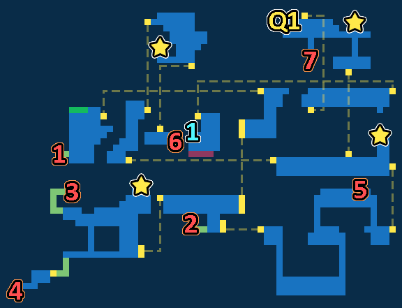 Treasure Map of Ghost Ship
