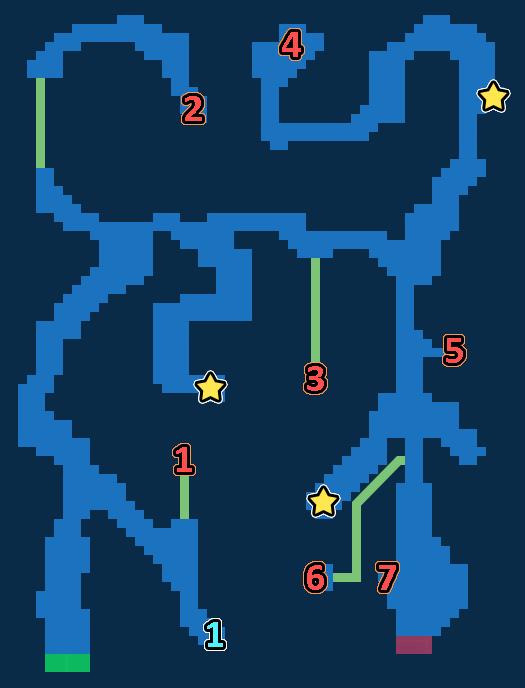 Treasure Map of Latius Woods
