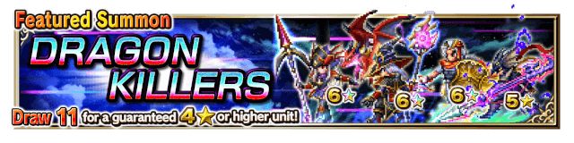 Featured Summon for Dragon Killers