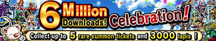 6 Millions Downloads Celebration!