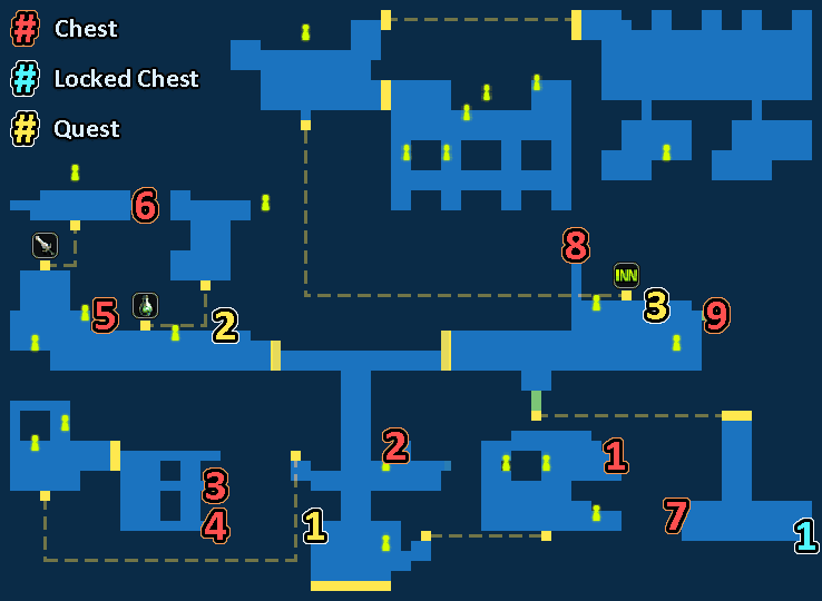 Map of Ilteah Town
