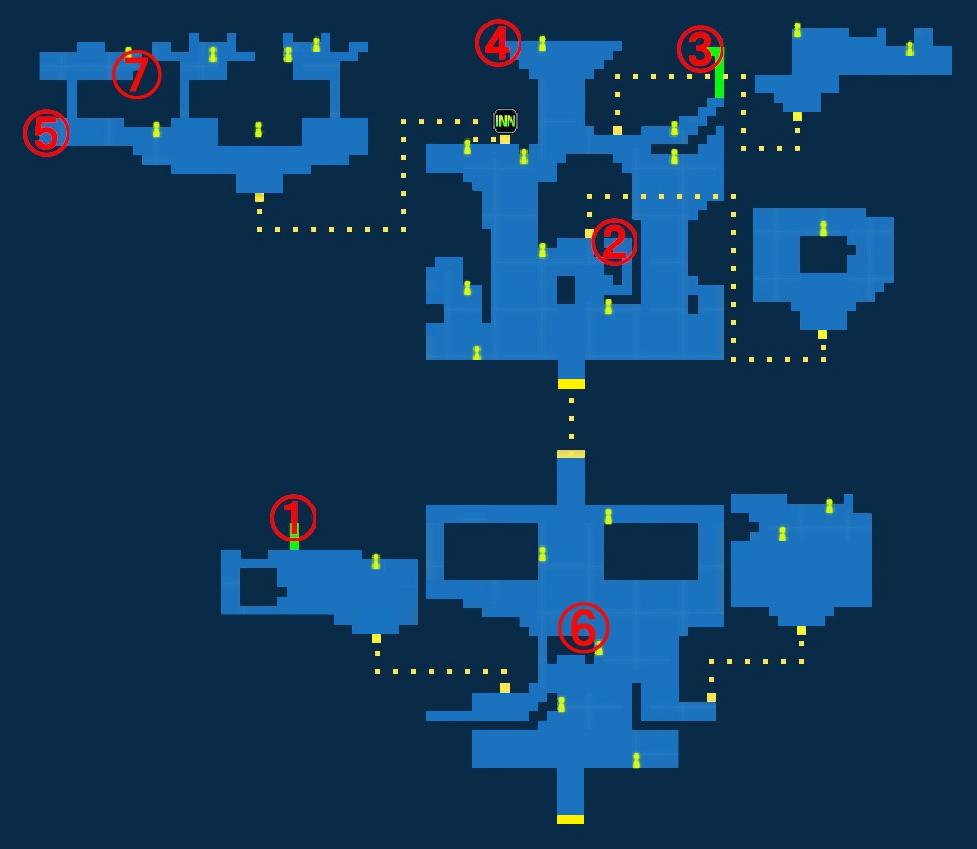 Treasure Map of Mage Village Roz
