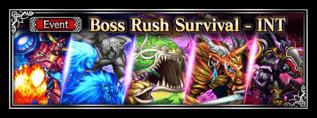 Boss Rush Survival 2 - INT