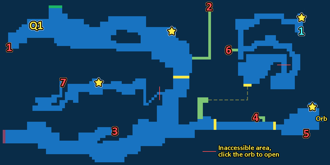 Treasure Map of Lake Dorr