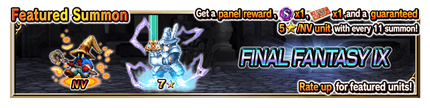 Featured Summon for Final Fantasy IX