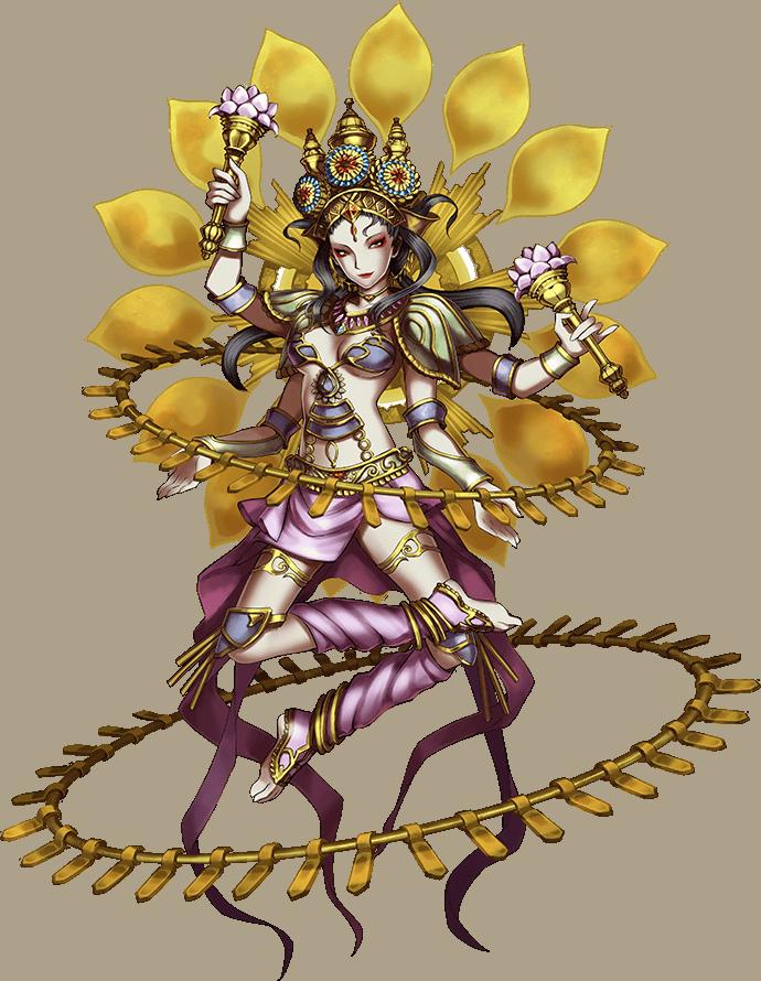 Artwork of Lakshmi