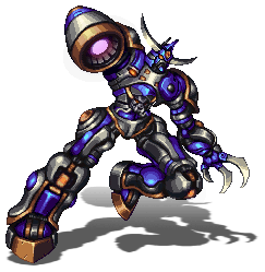 Blue Practice Robot