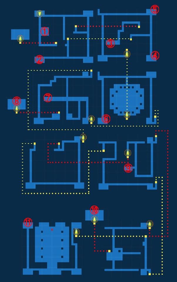 Map for Castle Palamecia - Exploration