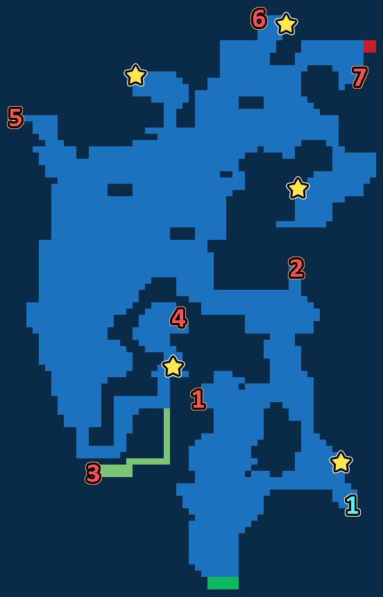 Treasure Map of Kolobos Reef