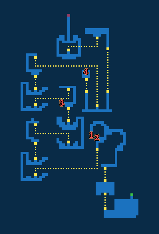 Map for Barrier Tower - Exploration
