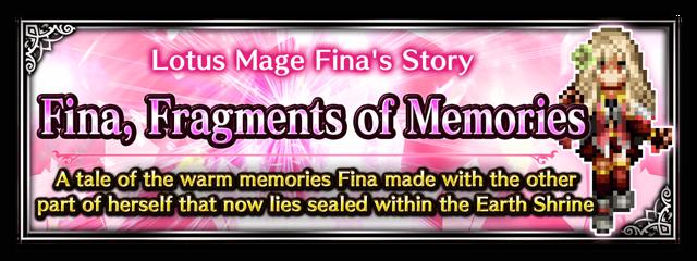 Fina, Fragments of Memories